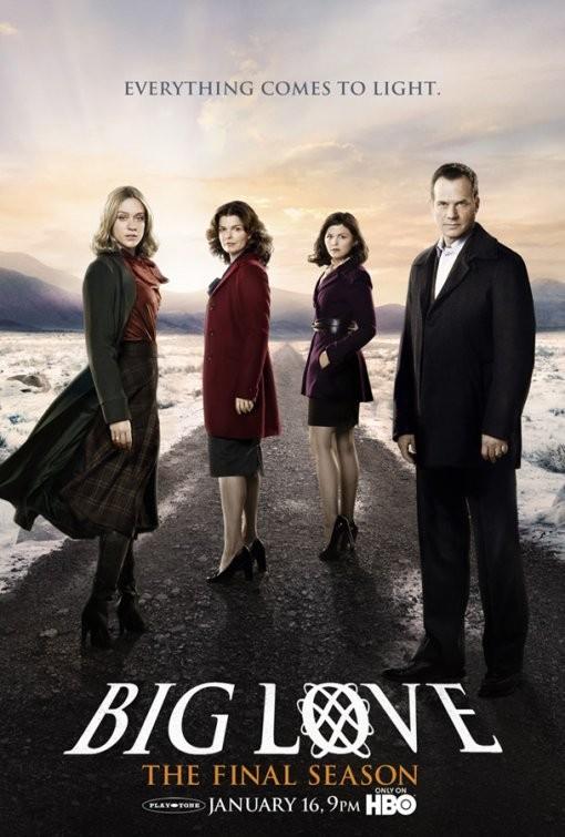 Un poster della stagione finale di Big Love
