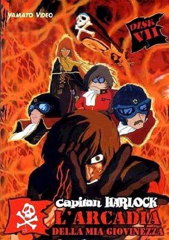 La locandina di Capitan Harlock - L'Arcadia della mia giovinezza