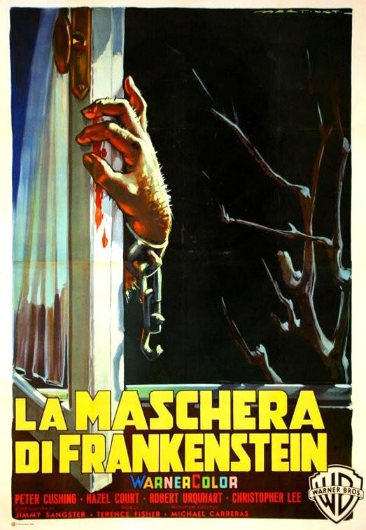 Locandina del film La maschera di Frankenstein (1957)