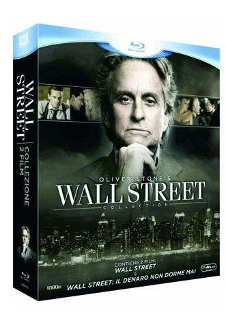 La copertina di Wall Street Collection (blu-ray)