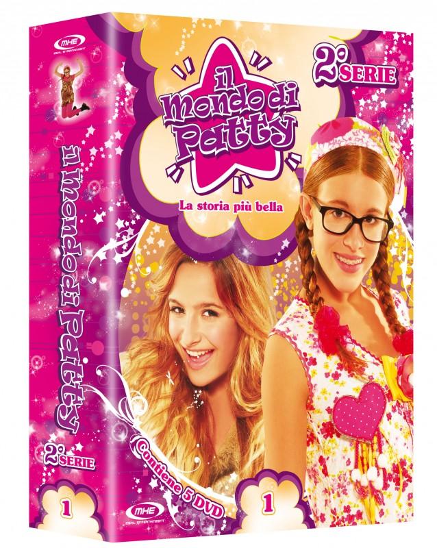 La copertina di Il mondo di Patty 2 - Vol. 1 (dvd)