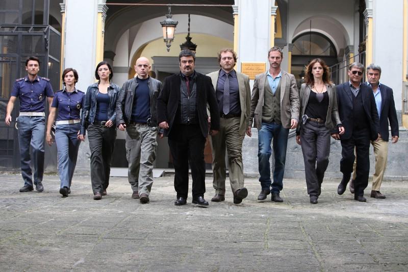 Un'immagine promozionale del cast della terza stagione de La nuova squadra