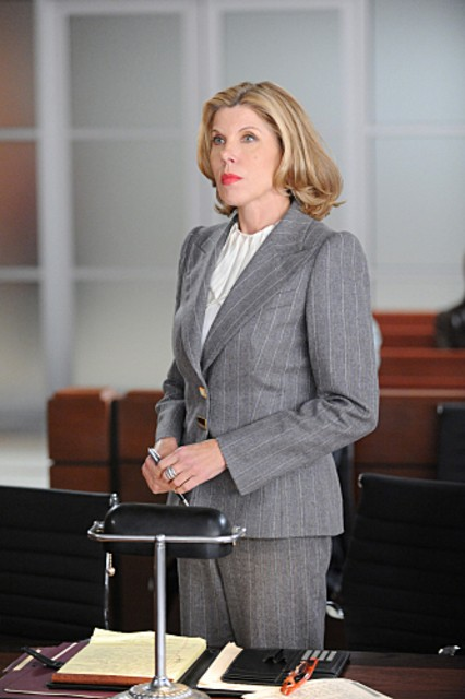 Christine Baranski nell'episodio Poisoned Pill di The Good Wife