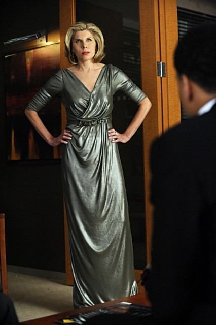 Christine Baranski nell'episodio VIP Treatment di The Good Wife