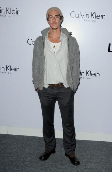 Eric Balfour in occasione di un evento fashion