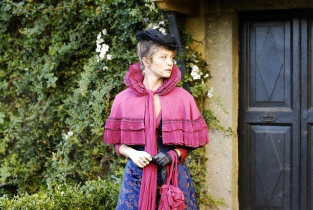 Francesca Cavallin è Sophie nella fiction Rossella