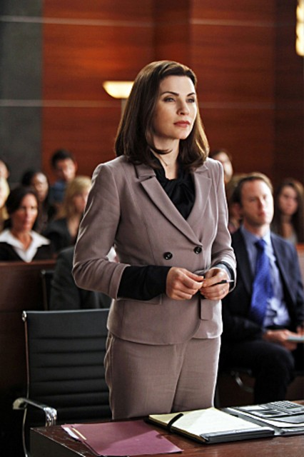Julianna Margulies nell'episodio Bad Girls di The Good Wife