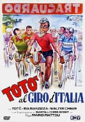 Locandina di Totò al Giro d\'Italia