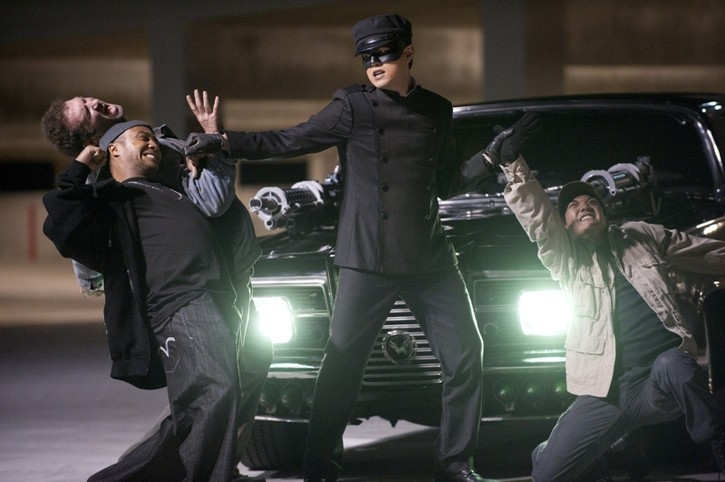 Jay Chou in un'immagine tratta dal film The Green Hornet