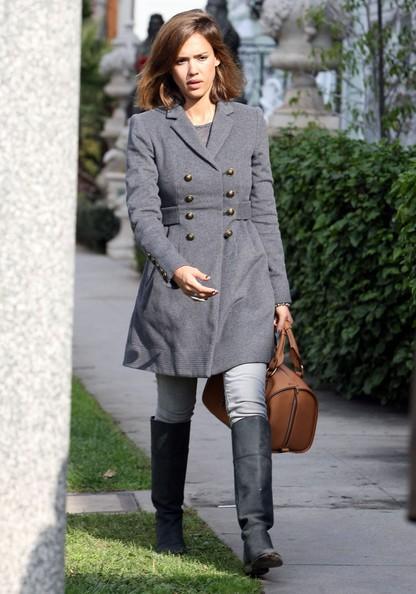 Jessica Alba si dirige ad un party privato al Tree House Social Club in Beverly Hills