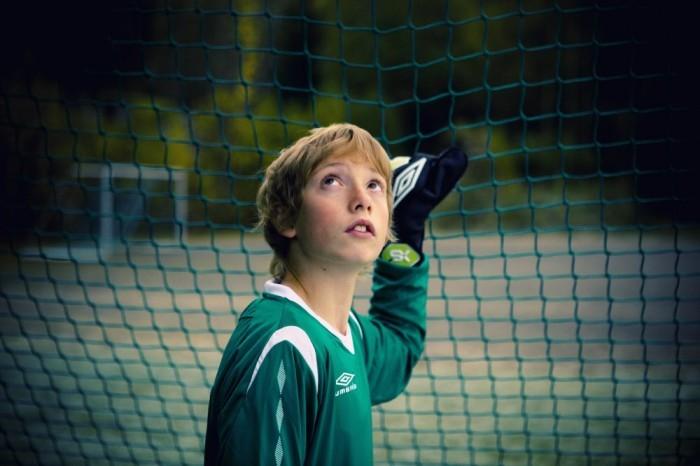 Una scena di Keeper`n til Liverpool (The Liverpool Goalie) di Arild Andresen