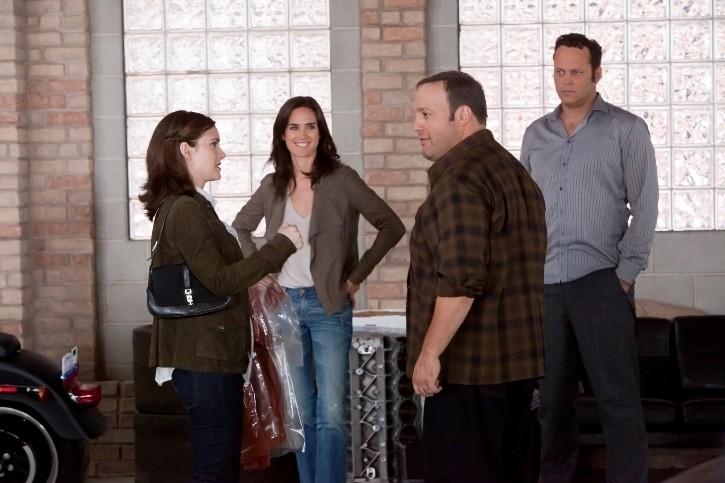 Winona Ryder e Jennifer Connelly con Vince Vaughn e Kevin James nella commedia Il Dilemma