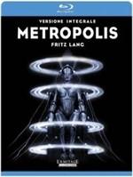 La copertina di Metropolis (blu-ray)