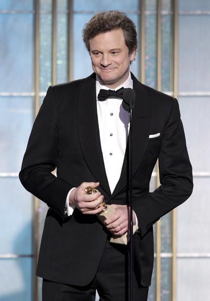 Colin Firth, migliore attore drammatico per il film Il discorso del re ai Golden Globes 2011