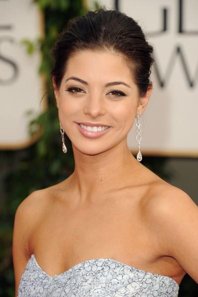 Golden Globes 2011, Gia Mantegna (figlia di Joe) sul tappeto rosso