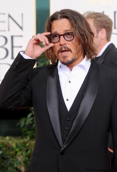 Golden Globes 2011, Johnny Depp tra le star sul tappeto rosso