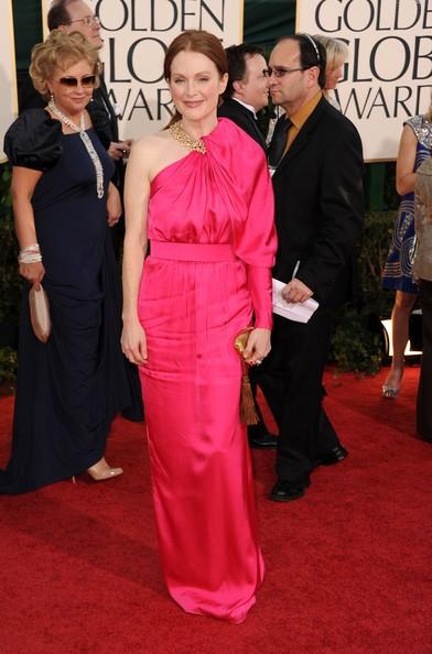 Golden Globes 2011, Julianne Moore sul red carpet