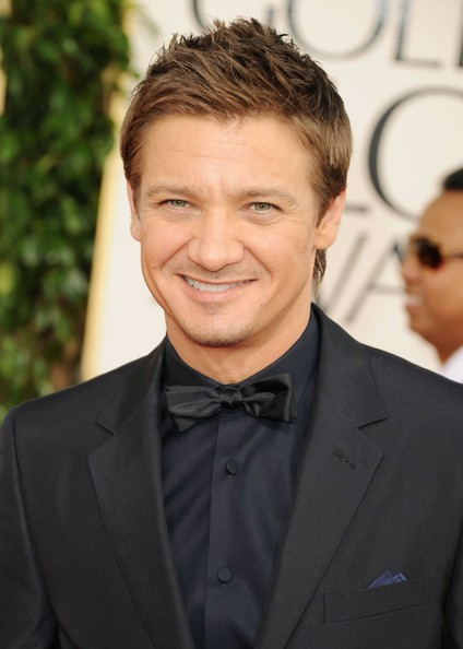 Golden Globes 2011, l'attore Jeremy Renner sul red carpet