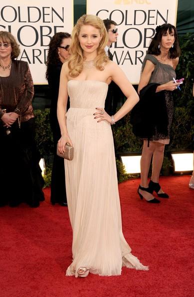 Golden Globes 2011: l'incantevole Dianna Agron sul red carpet