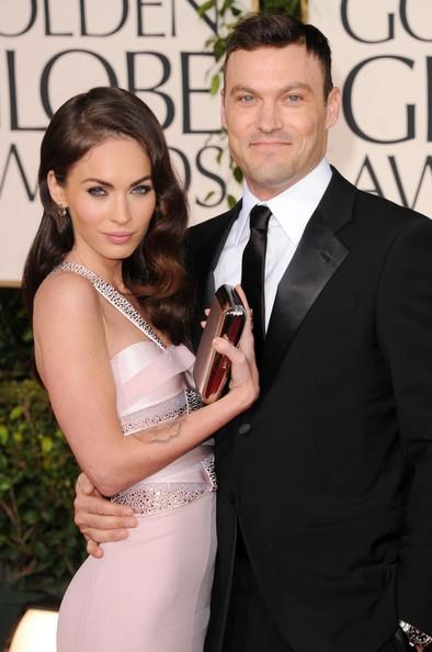 Golden Globes 2011, Megan Fox e Brian Austin Green sul tappeto rosso