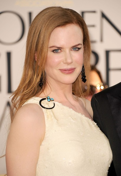 Golden Globes 2011,  Nicole Kidman sul red carpet dell'evento