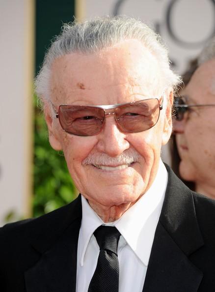 Golden Globes 2011, Stan Lee su tappeto rosso