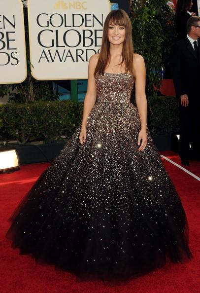 Golden Globes 2011, una scintillante Olivia Wilde