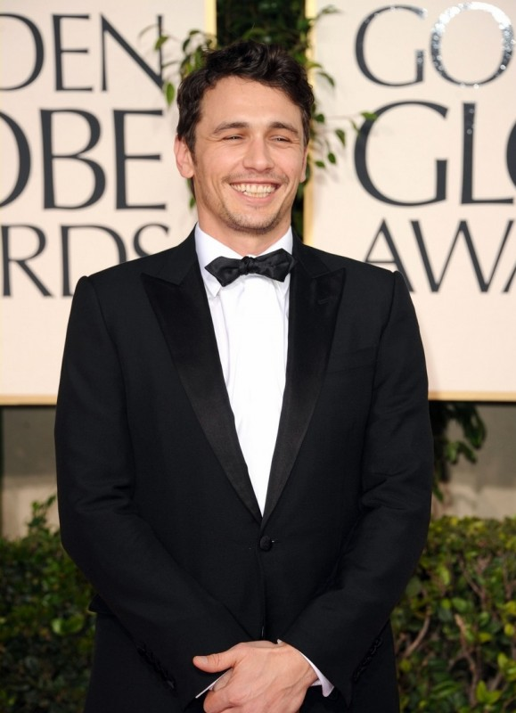 James Franco sul red carpet dei Golden Globes 2011
