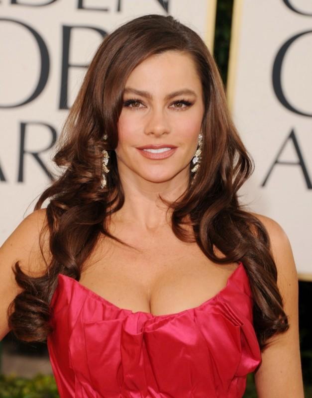 Sofia Vergara sul red carpet dei Golden Globes 2011
