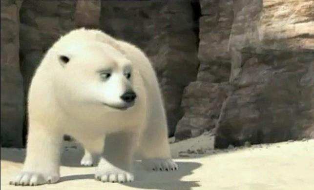 L'orso Sushi nel film Animals United 3D