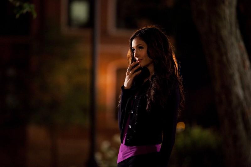 Katherine Pierce interpretata da Nina Dobrev nell'episodio Memory Lane di Vampire Diaries