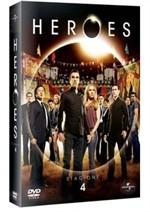La copertina di Heroes - Stagione 4 (dvd)