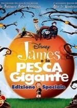 La copertina di James e la pesca gigante (dvd)