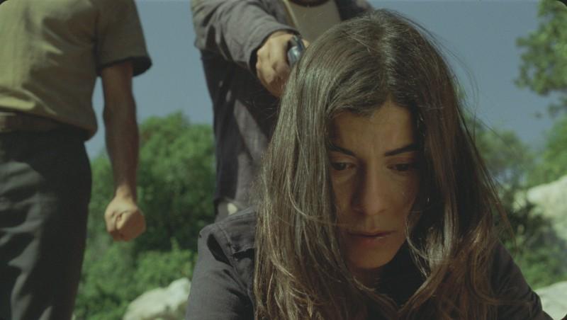 Lubna Azabal in un'immagine del film La donna che canta con