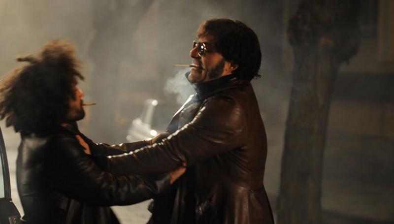 Nicola Acunzo e Filippo Timi in una scena del film Vallanzasca - Gli angeli del male