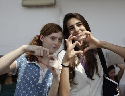 Irene Trullén e Lidia Torrent in un'immagine del film Blog