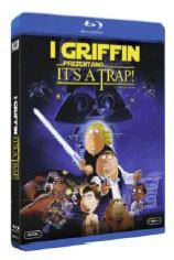 La copertina di I Griffin presentano It's a Trap (blu-ray)