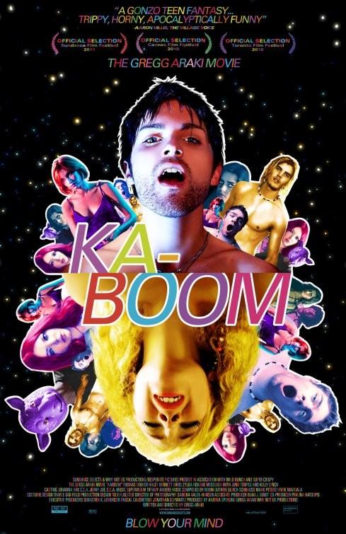 Nuovo psichedelico poster per Kaboom