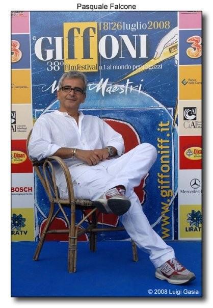 Pasquale Falcone al 38esimo Giffoni Film Festival
