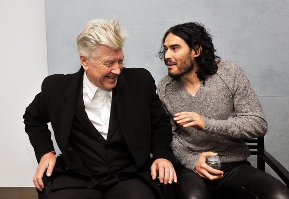 Russell Brand e David Lynch a New York