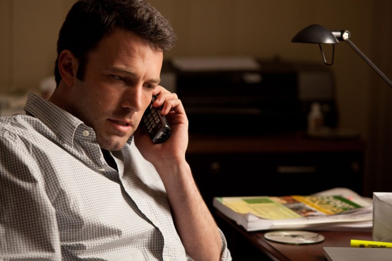 Ben Affleck in una scena del film The Company Men