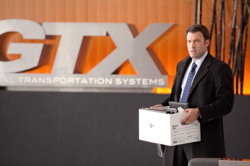 Ben Affleck, protagonista del film The Company Men