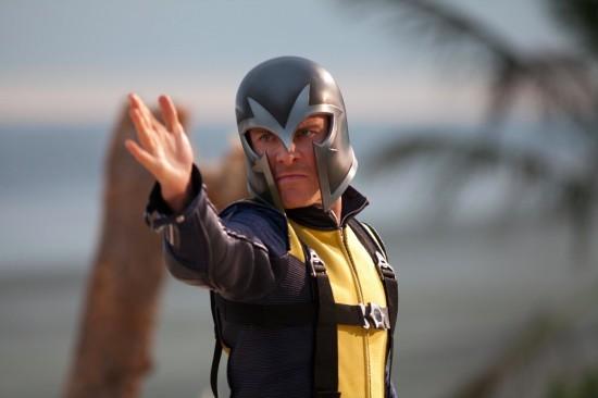 Michael Fassbender nei panni di Magneto in X-Men: First Class