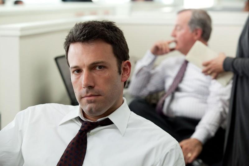 Primo piano di Ben Affleck dal film The Company Men