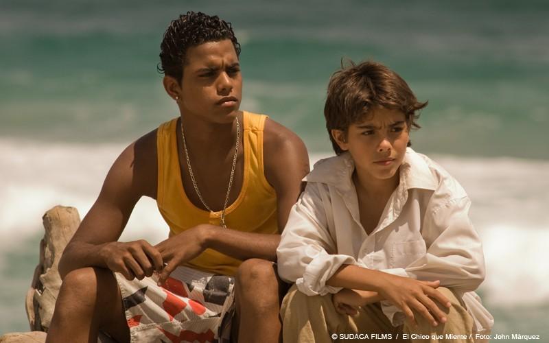 Una immagine del dramma El chico que miente
