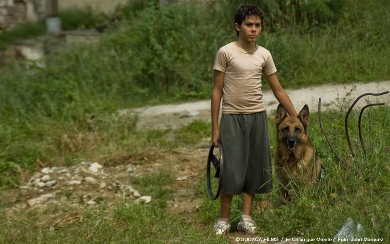 Una immagine del dramma El chico que miente (The Kid Who Lies)