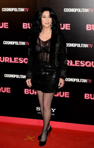 Cher alla premiere spagnola di Burlesque