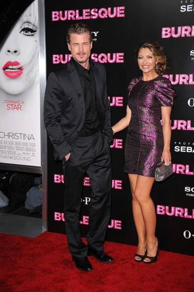 Eric Dane accanto a Rebecca Gayheart alla premiere americana di Burlesque