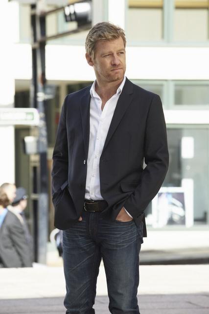 Nicholas Bishop in una scena del pilot della serie Body of Proof