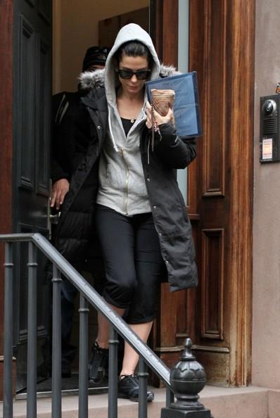 Sandra Bullock esce di casa nel West Village